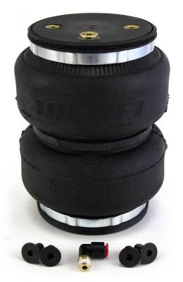 Air Lift - Air Lift LOADLIFTER 5000 ULTIMATE REPLACEMENT AIR SPRING; INCLUDES HARDWARE AND ONE AIR S 84297