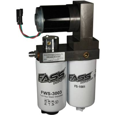 FASS - TITANIUM SIGNATURE SERIES DIESEL FUEL LIFT PUMP 165GPH DODGE CUMMINS 5.9L AND 6.7L 2005-2016