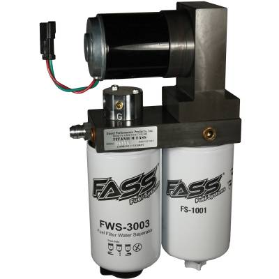 FASS - TITANIUM SERIES DIESEL FUEL LIFT PUMP 165GPH FORD POWERSTROKE 6.4L 2008-2010`