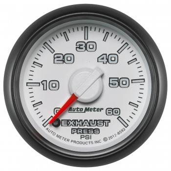Auto Meter - Autometer Factory Match Electronic Exhaust Back Pressure 60psi