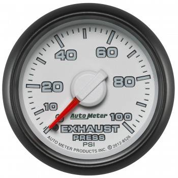 Auto Meter - Autometer Factory Match Exhaust Back Pressure 100psi