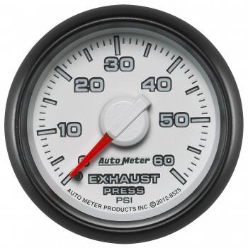 Auto Meter - Autometer Factory Match Exhaust Back Pressure 60psi