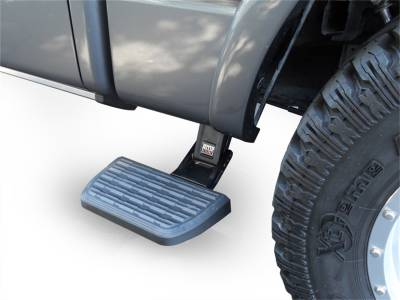 Amp Research  - AMP Research 75413-01A BedStep2 Retractable Truck Bed Side Step for 2017-2019 Ford F-250/F-350, All Beds