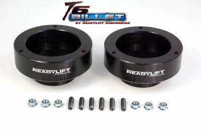 ReadyLift - ReadyLift 2.0in. T6 BILLET ALUMINUM LEVELING KIT ANODIZED BLACK IN COLOR T6-1090-K