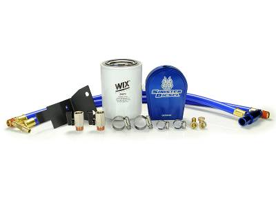 Engine Parts - Cooling System - Sinister Diesel - Sinister Diesel Sinister Diesel Coolant Filtration System for 6.0L Ford Powerstroke SD-COOLFIL-6.0