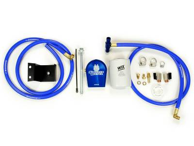 Filters And Fluids - Filtration Kits - Sinister Diesel - Sinister Diesel Sinister Diesel Coolant Filtration System for 2003-2007 5.9L Cummins SD-COOLFIL-5.9-03