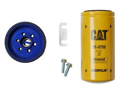 Filters And Fluids - Filtration Kits - Sinister Diesel - Sinister Diesel Sinister Diesel CAT Filter Adapter for 2001-2010 Duramax SD-CAT-DMAX