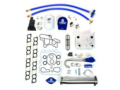 Ford/Powerstroke - Engine Parts - Sinister Diesel - Sinister Diesel Ford 6.0L Basic Solution Package Coolant Filtration Kit MKM-BS-6.0-CF