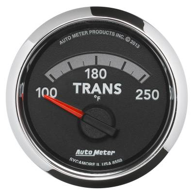 Auto Meter - Auto Meter Gauge; Trans. Temp; 2 1/16in.; 100-250deg. F; Electric; Ram Gen 4 Factory Match 8550