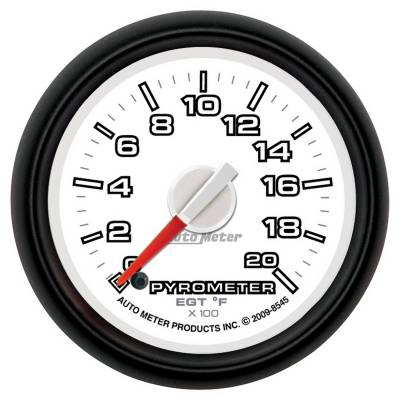 Gauges And Pods - Gauges - Auto Meter - Auto Meter Gauge; Pyro. (EGT); 2 1/16in.; 2000deg. F; Stepper Motor; Ram Gen 3 Fact. Match 8545