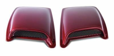 Ford/Powerstroke - Exterior Accessories - Auto Ventshade (AVS) - Auto Ventshade (AVS) AVS - HOOD SCOOPS 80002