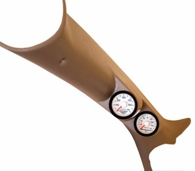 Dodge/Cummins - Gauges And Pods - Auto Meter - Auto Meter Diesel Gauge Kit; A-Pillar; RAM 03-09; Boost/EGT; 60psi/2000deg. F; Fact. Match 7096