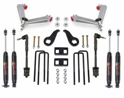 Steering And Suspension - Lift Kits/Leveling Kits - ReadyLift - ReadyLift SST LIFT KIT 4.0in. FRONT 1.0in. REAR 69-3553