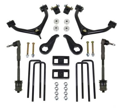 Steering And Suspension - Lift Kits/Leveling Kits - ReadyLift - ReadyLift SST LIFT KIT 4.0in. FRONT A-ARM 1.0in. REAR  KIT 69-3421