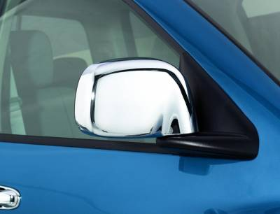 Dodge/Cummins - Exterior Accessories - Auto Ventshade (AVS) - Auto Ventshade (AVS) AVS - CHROME MIRROR COVERS 687666