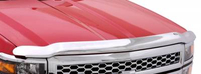 Chevy GM/Duramax - Exterior Accessories - Auto Ventshade (AVS) - Auto Ventshade (AVS) AVS - CHROME HOOD SHIELD 680018