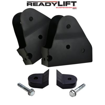 Steering And Suspension - Steering And Front End Parts - ReadyLift - ReadyLift RADIUS ARM DROP BRACKETS AND 1.0in. LOWER COIL SPACER KIT 67-2550