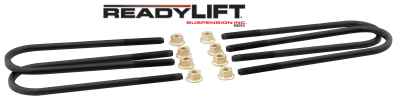 Ford/Powerstroke - Steering And Suspension - ReadyLift - ReadyLift U-BOLT KIT ROUND BACK 390MM LONG 67-2195UB