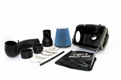 Air Intakes And Parts - Cold Air Intakes - Bully Dog - Bully Dog Rapid Flow Intake, enclosed, injection molded, stage 2 53253