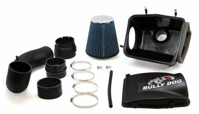 Air Intakes And Parts - Cold Air Intakes - Bully Dog - Bully Dog Rapid Flow Intake, enclosed, injection molded, stage 2 53252