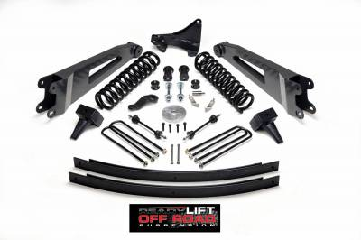 Steering And Suspension - Lift Kits/Leveling Kits - ReadyLift - ReadyLift 5in. Lift Kit including Springs, Leafs, Blocks and Radius Arms - TOW PACKAGE 49-2001