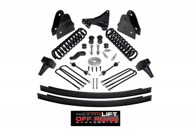Steering And Suspension - Lift Kits/Leveling Kits - ReadyLift - ReadyLift 5in. Off Road Lift Kit including Springs, Leafs and Blocks - TOW PACKAGE 49-2000