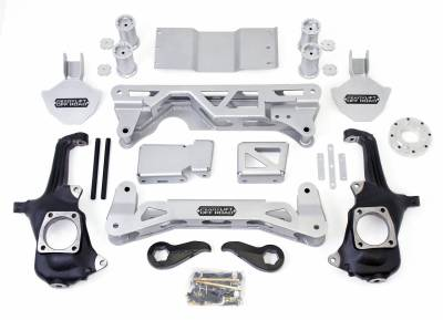 Steering And Suspension - Lift Kits/Leveling Kits - ReadyLift - ReadyLift 7-8in. FRONT BRACKET KIT AND ReadyLIFT TORSION KEYS FOR MLS LIFT KIT 44-3257