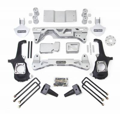 Steering And Suspension - Lift Kits/Leveling Kits - ReadyLift - ReadyLift LIFT KIT - 4WD ONLY 5-6in. FRONT 4in. REAR 44-3054
