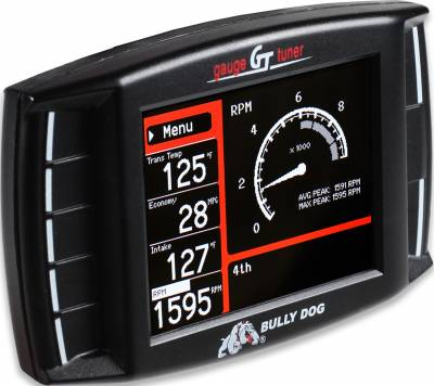 Tuners And Programmers - Tuners And Programmers - Bully Dog - Bully Dog Triple Dog GT gas, vehicle tuner and multi-gauge vehicle monitor 40415