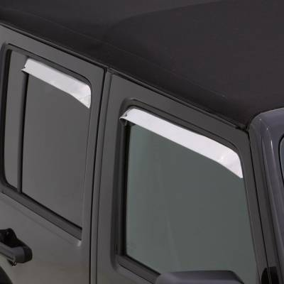 Auto Ventshade (AVS) - Auto Ventshade (AVS) AVS - VENTSHADE - 4PC STAINLESS 14075 - Image 2