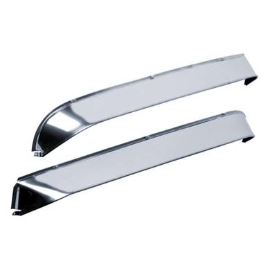 Auto Ventshade (AVS) - Auto Ventshade (AVS) AVS - VENTSHADE - 2PC STAINLESS 12688 - Image 2