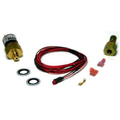 Dodge/Cummins - Fuel System - BD Diesel - BD Diesel Low Fuel Pressure Alarm Kit, Red LED - 1998-2007 Dodge 24-valve 1081130