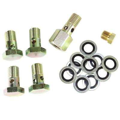 BD Diesel - BD Diesel Banjo Bolt Upgrade Kit - 2000-2002 Dodge 1050220