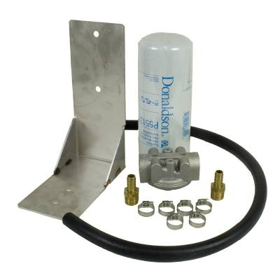 Filters And Fluids - Filters - BD Diesel - BD Diesel Remote Fuel Filter Kit - 2001-2012 Chevy Duramax 1050060
