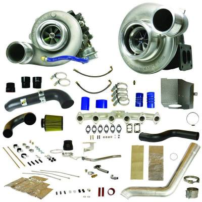 Dodge/Cummins - Turbos - BD Diesel - BD Diesel RT700 Track Master Twin Turbo Kit - 2007.5-2009 Dodge 6.7L 1045480