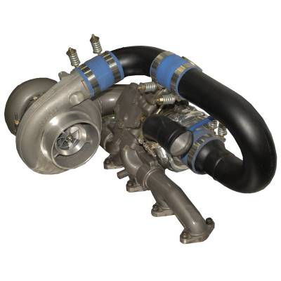 Dodge/Cummins - Turbos - BD Diesel - BD Diesel R700 Tow & Track Turbo Kit (Upgrade from Super B Twin) - 2003-2007 Dodge 5.9L 1045440