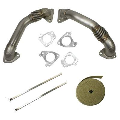 Exhaust Systems And Components - Up Pipes - BD Diesel - BD Diesel UpPipe Kit - Chevy 2001-2015 6.6L Duramax 1043800