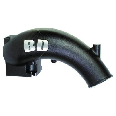 Air Intakes And Parts - Intake Elbows/Manifolds - BD Diesel - BD Diesel X-Flow Power Intake Elbow (Black) - Dodge 1998-2002 5.9L 24-valve 1041550