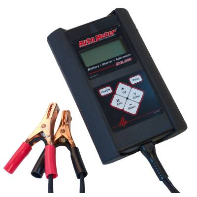 Battery - Testers - Auto Meter - Auto Meter Handheld Electrical System Analyzer w/40 Amp Load BVA-300