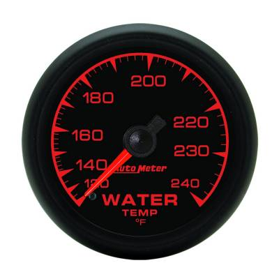 Engine Parts - Cooling System - Auto Meter - Auto Meter Gauge; Water Temp; 2 1/16in.; 120-240deg. F; Mechanical; ES 5932