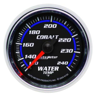 Engine Parts - Cooling System - Auto Meter - Auto Meter Gauge; Water Temp; 2 1/16in.; 120-240deg. F; Mechanical; Cobalt 6132