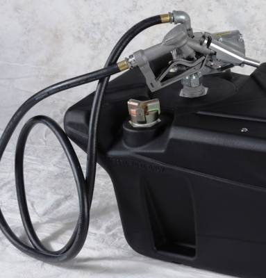 Titan Fuel Tanks - Titan Fuel Tanks Spare Tire assembly to securely mount tire in pickup truck bed 99 0133 0000