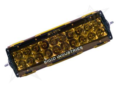 "Lighting - Off Road Lighting - Rigid Industries - Rigid Industries 10"" E-Series Light Cover - Amber -trim 4"" & 6"" 11093"
