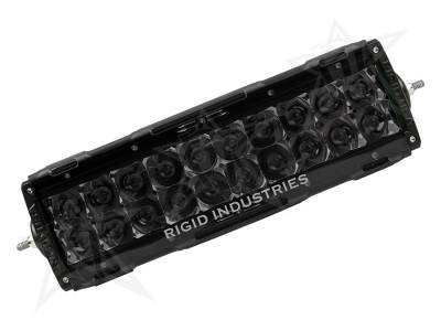 "Lighting - Off Road Lighting - Rigid Industries - Rigid Industries 10"" E-Series Light Cover - Smoked - trim 4"" & 6"" 11098"