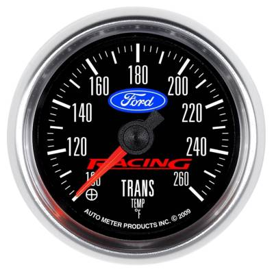 Transmission - Transmission Overhaul Kits And Parts - Auto Meter - Auto Meter Gauge; Trans Temp; 2 1/16in.; 100-260deg. F; Digital Stepper Motor; Ford Racing 880314