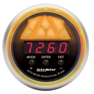 Lighting - Auto Meter - Auto Meter Gauge; Shift Light; Dig RPM w/multi-color LED Light/Playbk; DPSS Lvl 3; Sport-Co 3389