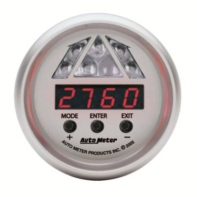 Lighting - Auto Meter - Auto Meter Gauge; Shift Light; Digital RPM w/Amber LED Light; DPSS Level 1; Ultra-Lite 4387