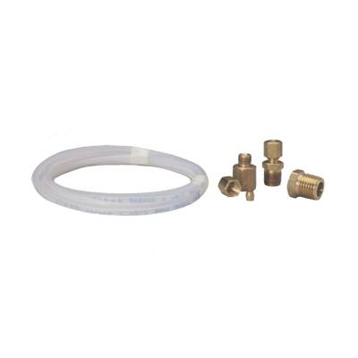 Piping/Tubing - Auto Meter - Auto Meter Tubing; Nylon; 1/8in.; 10ft. Length; incl. 1/8in. NPTF brass compression fitting 3223