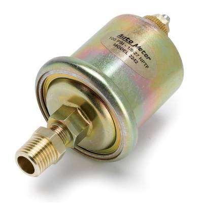 Tuners And Programmers - Accessories And Switches - Auto Meter - Auto Meter Sensor; Oil Pressure; 0-100psi; 1/8in. NPT Male; for Short Sweep Elec. 2242