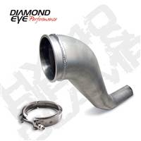 "Exhaust Systems And Components - Exhaust Systems - Diamond Eye - Diamond Eye HX40 4"" Downpipe w/clamp"